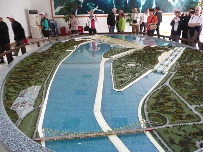Model priehrady